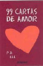 99 Cartas De Amor 9788483462980