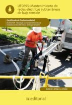 (i.b.d.)mantenimiento de redes electricas subterraneas de baja tension elee0109 montaje y mantenimiento de instalaciones        electricas de baja tension 9788483649480