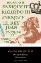 dramas históricos (obra completa shakespeare 3) (ebook) william shakespeare 9788491052180