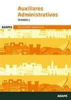 auxiliares administrativos generalitat valenciana: temario 1 9788491474180