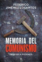 memoria del comunismo-federico jimenez losantos-9788491641780