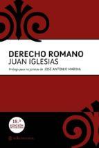 derecho romano (18ª ed.) juan iglesias 9788493758080