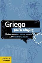 griego para viajar 2017 (7ª ed.) margarita barros 9788499358680