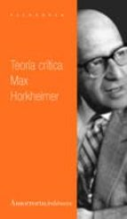 teoria critica max horkheimer 9789505183180