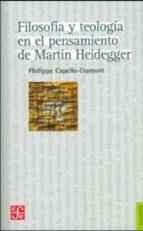 filosofía y teología en el pensamiento de martin heidegger-philippe capelle-dumont-9789505579280