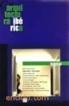 Libros torrent gratis para descargar Arquitectura iberica. habitar