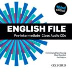 english file: pre-intermediate: class audio cds (3rd ed.)-9780194598590