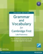 grammar and vocabulary for fce. with key 9781408290590