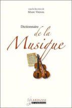 Dictionnaire de la musique Libro en inglés para descargar gratis con audio
