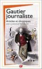gautier journaliste theophile gautier 9782080712790