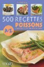 500 Recettes poissons de a a z DJVU FB2 EPUB por E.bertrand