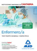 enfermero/a de las instituciones sanitarias de cantabria: test parte general y especifica-9788414214190
