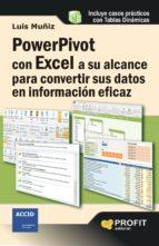 powerpivot con excel a su alcance para convertir sus datos en inf ormacion eficaz-luis muñiz-9788415735090