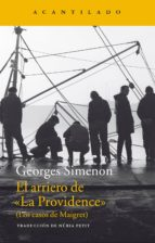 el arriero de la providence (los casos de maigret) georges simenon 9788416011490