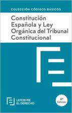 constitución española y ley orgánica del tribunal constitucional 9788417317690