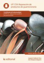 reparación de productos de guarnicionería. tcpf0110 (ebook)-joaquin calderon toro-ana vazquez salguero-9788417343590