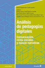 análisis de pedagogías digitales (ebook) sonia santoveña casal 9788417667290