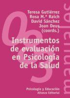 instrumentos de evaluacion en psicologia de la salud-9788420641690