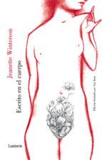 escrito en el cuerpo-jeanette winterson-9788426404190