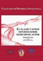 plagio y otros estudios de derecho de autor antonio castan perez gomez 9788429015690