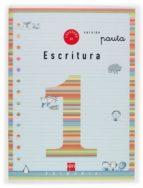 cuaderno de escritura 1: pauta (1º educacion primaria)-9788434897090