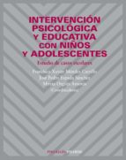 intervencion psicologica y educativa con niños y adolescentes 9788436820690