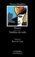 altazor;temblor de cielo (6ª ed.) vicente huidobro 9788437602790