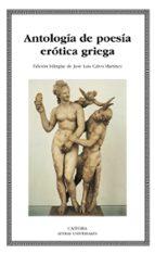 antologia de poesia erotica griega-9788437625690