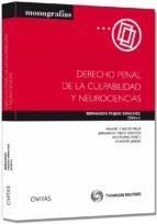 derecho penal de la culpabilidad y neurociencias-bernardo feijoo sanchez-9788447040490
