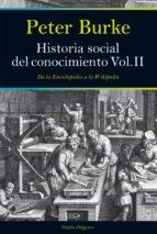 historia social del conocimiento (vol. ii)-peter burke-9788449327490