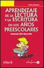 aprendizaje de la lectura y la escritura en los años preescolares-9788466501590