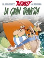 asterix 22: la gran travesia rene goscinny 9788469602690
