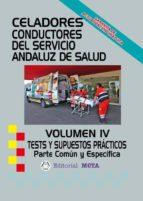 celadores conductores sas temario parte común volumen iv-9788482193090