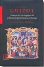 historia de los origenes del gobierno representativo en europa francois guizot 9788483671290