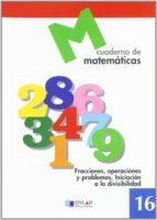 cuaderno de matematicas, nº 16-9788489655690