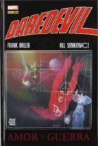 daredevil: amor y guerra frank miller 9788490240090