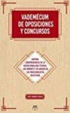 vademecum de oposiciones y concursos-jose ramon chaves-9788494623790