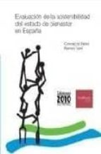 evaluacion de la sostenibilidad del estado de bienestar en españa-ramon viñas i farre-concepcio patxot-9788495058690