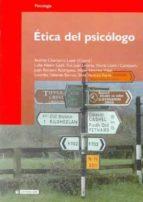 etica del psicologo andres chamarro lusar 9788497885690
