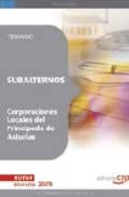 SUBALTERNOS CORPORACIONES LOCALES DEL PRINCIPADO DE ASTURIAS: TEM ARIO