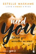 YOU 2: NEED YOU - 9788408181200 - ESTELLE MASKAME