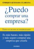 ¿PUEDO COMPRAR UNA EMPRESA? - 9788436828900 - ENRIQUE QUEMADA CLARIANA