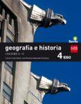 GEOGRAFÍA E HISTORIA TRIMESTRES 4º ESO SAVIA 16 - 9788467589900 - VV.AA.
