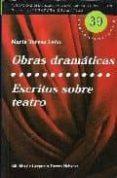OBRAS DRAMATICAS; ESCRITOS SOBRE TEATRO - 9788495576200 - MARIA TERESA LEON