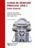 CURSO DE DERECHO PROCESAL CIVIL I (3ª ED.) - 9788499612300 - VV.AA.