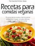 RECETAS PARA COMIDAS VEGANAS (EBOOK) - 9781507127810