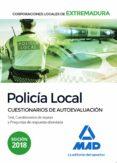 policia local de extremadura: cuestionarios de autoevaluacion-moises cayetano rodriguez-9788414222010
