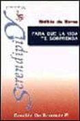 PARA QUE LA VIDA TE SORPRENDA - 9788433014610 - MATILDE DE TORRES