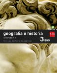 GEOGRAFÍA E HISTORIA 3º ESO SAVIA 15 TRIMESTRES (GENERAL) - 9788467583410 - VV.AA.