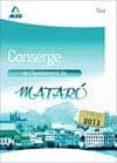 CONSERGE DE L AJUNTAMENT DE MATARO. TEST - 9788467696110 - JUAN RAMON JIMENEZ